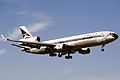 Delta Air Lines McDonnell-Douglas MD-11 (N801DE 480 48472) (10817067356).jpg