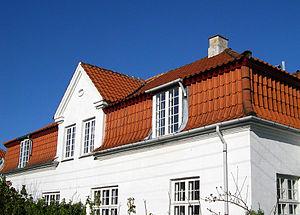 White Houses, Frederiksberg - Image: Den hvide by detail