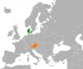 Denmark Austria Locator.png