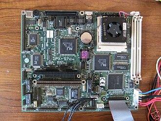 Single-board computer - Close up of SBC