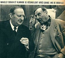 Derain and Vlaminck in 1942