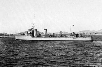 Battle of Cape Palos - Destroyer Lepanto