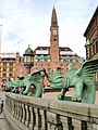Detail - Town hall of Copenhagen - DSC08870.JPG
