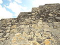 Detail of Stone Wall - Edzna Archaeological Site - Campeche State - Mexico.jpg