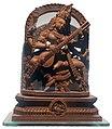 Devi Soroswoti Sculpture by Sandalwood Murshidabad WB 31 01 2018.jpg