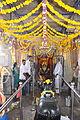 Devotees near the sanctum in the Rameshwara Temple at Keladi.jpg