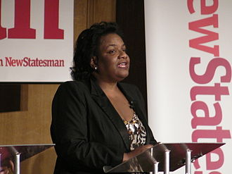 Diane Abbott - Diane Abbott speaking at the New Statesman hustings for the Labour Party leadership election, 2010