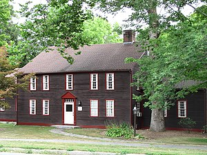 East Village Historic District (Amherst, Massachusetts) - Dickinson Baggs Tavern