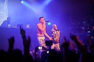 Die Antwoord South African rap-rave group