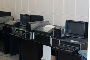 Emergency Government Headquarters - Teletype Corp Model 40 Terminals at the CEGHQ, CFS Carp