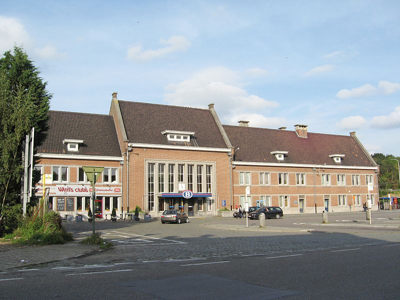 Train station of Diest, Flemish Brabant, Belgium