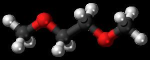 Dimethoxyethane - Image: Dimethoxyethane 3D ball