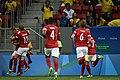 Dinamarca x África do Sul - Futebol masculino - Olimpíadas Rio 2016 (28759743611).jpg