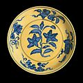 Dish (Pan) with Gardenia Spray, Lotus, Pomegranates, Peaches, and Grapes LACMA M.54.32 (1 of 2).jpg