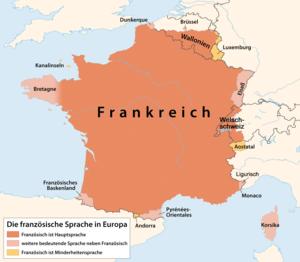 Französisch In Europa
