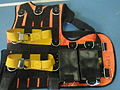 Diving safety harness with weight pocketsPA268045.jpg