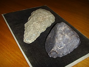 Dmanisi skull 5 - Stone tools found on the Dmanisi paleontological site