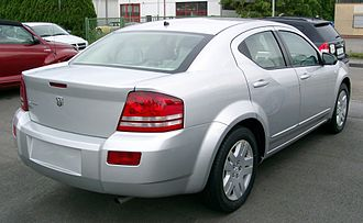 Dodge Avenger - Rear view