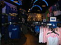 Dodgers Clubhouse, Universal CityWalk Hollywood interior.JPG