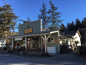 National Register of Historic Places listings in San Juan County, Washington - Image: Doebay General Store & P.O. NRHP 86001017 San Juan County, WA