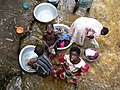 Doing the laundry. Ghana 2006. - panoramio.jpg