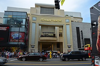 Los Angeles - The Dolby Theatre, venue for the Academy Awards