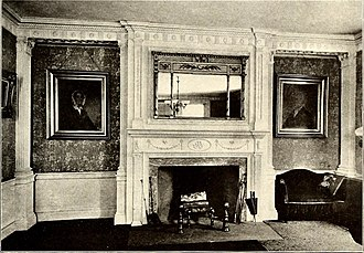 Peirce–Nichols House - Interior of the Peirce–Nichols House. McIntire did many of the fine woodworking details himself.