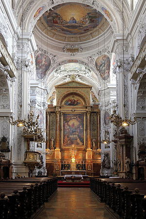 Dominican Church, Vienna - Main altar