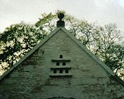 The Doocot and the Ball finial