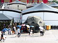 Doom Tent Display at CKS Memorial Hall Plaza 20130608a.jpg