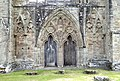 Doorway on the West Front of the Church at Tintern Abbey.jpg