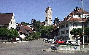 Gelterkinden - Image: Dorfplatz Gelterkinden