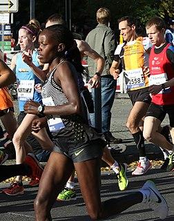 Doris Changeywo Kenyan long-distance runner