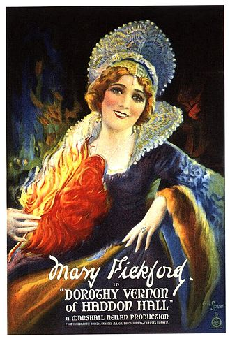 Dorothy Vernon - A poster advertising the Dorothy Vernon story