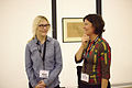Dorothy and Merrilee at Wikimania 2015 Reception at Museo Soumaya.jpg