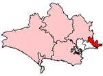 Shown within Dorset