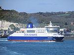 Dover Seaways leaving Dover for Dunkerque (8714432365).jpg