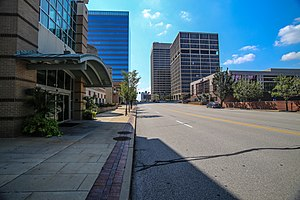 Clayton, Missouri - Image: Downtown Clayton
