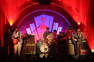 Dr. Dog - Dr. Dog performing at Bowery Ballroom in February 2015