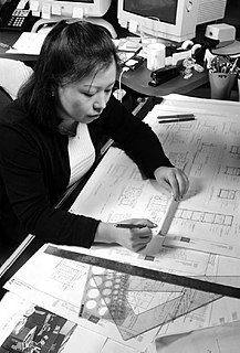 Drafter person who prepares technical drawings