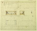 Drawing, Day Couch for Mrs. Allen's Boudoir, Henry J. Allen Residence, Wichita, Kansas, 1917 (CH 18800323-2).jpg