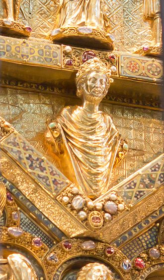 Rainald of Dassel - Portrait on the Shrine of the Three Kings, Cologne Cathedral
