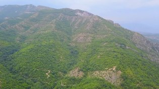 File:Drone footage from Matka Canyon, Skopje, Macedonia..webm