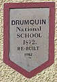 Drumquin National School plaque - geograph.org.uk - 1035641.jpg