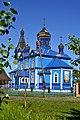 Dubechne Starovyzhivskyi Volynska-Church of the Intercession-east view.jpg