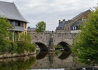Ducey-les-Chéris Commune in Normandy, France