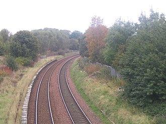 Duddingston & Craigmillar railway station - Station site (2007)