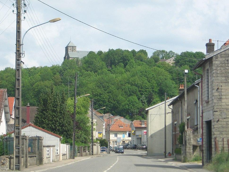 Le village de Dun-sur-Meuse