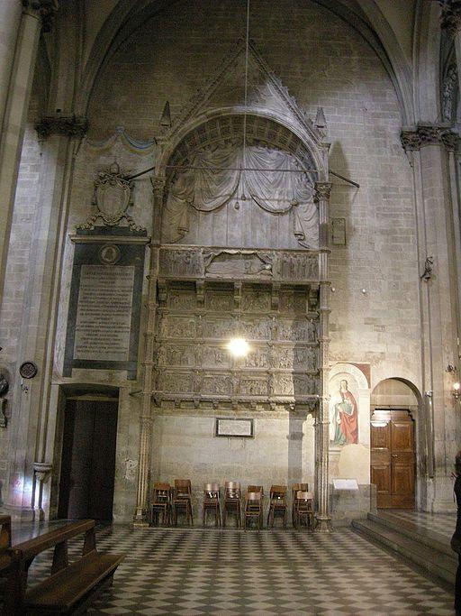 Monumento funebre di Guido Tarlati, 1330, Duomo di Arezzo
