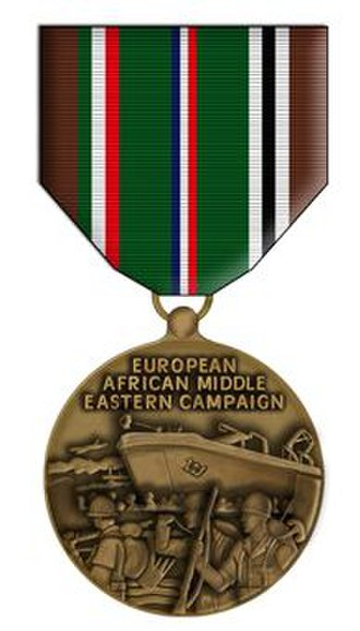 European–African–Middle Eastern Campaign Medal - European–African–Middle Eastern Campaign Medal